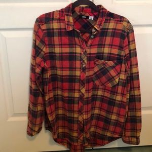 Button down flannel form Urban Outfitters